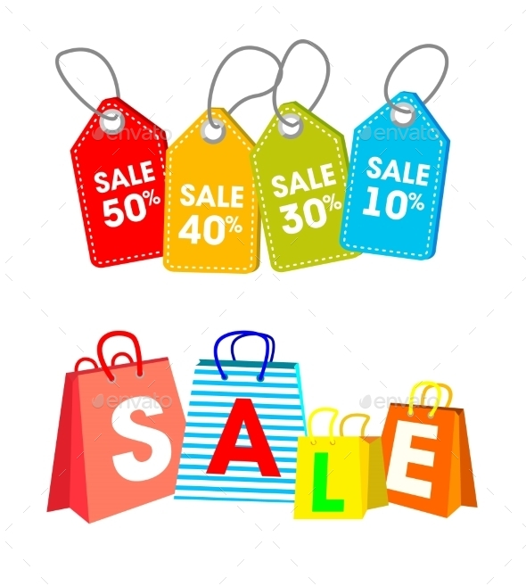 Shopping Tags and Labels  - Commercial / Shopping Conceptual
