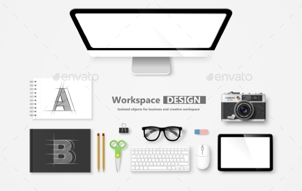 Workspace - Backgrounds Business