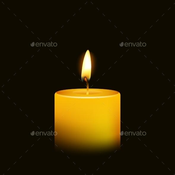 Candle  - Religion Conceptual