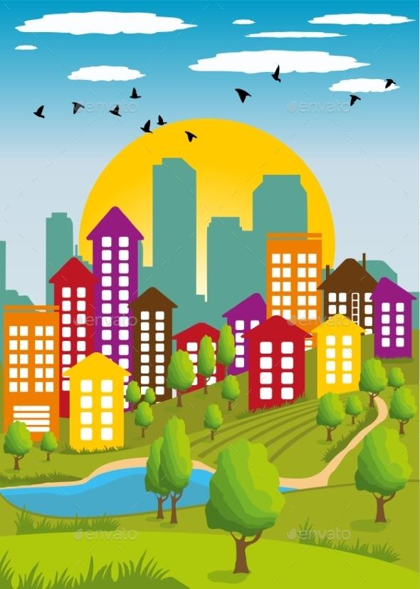 Modern Metropolis - Landscapes Nature
