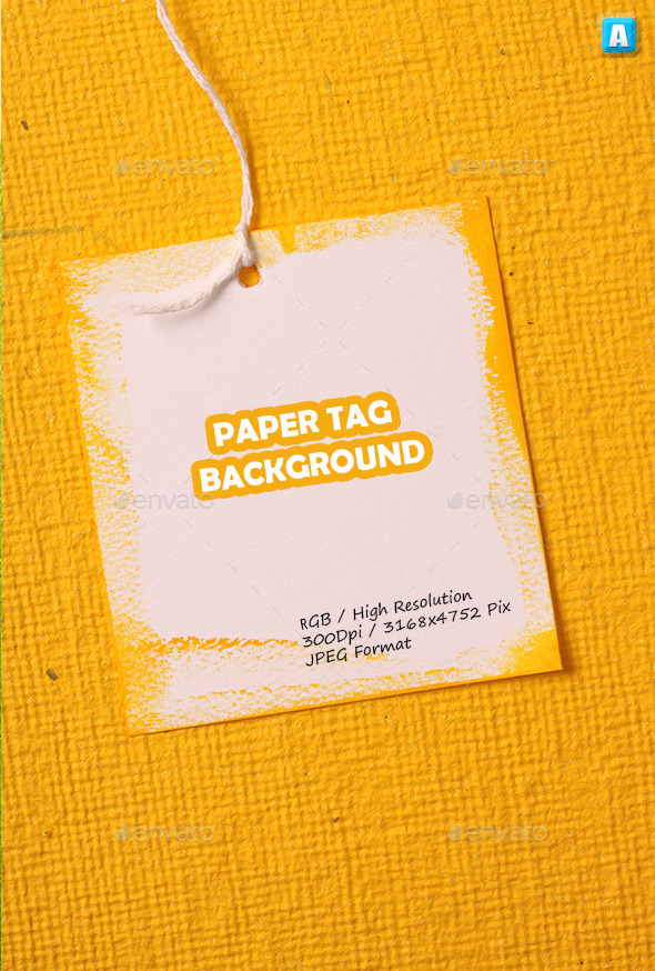 Paper Tag Background 0113 - Art Textures