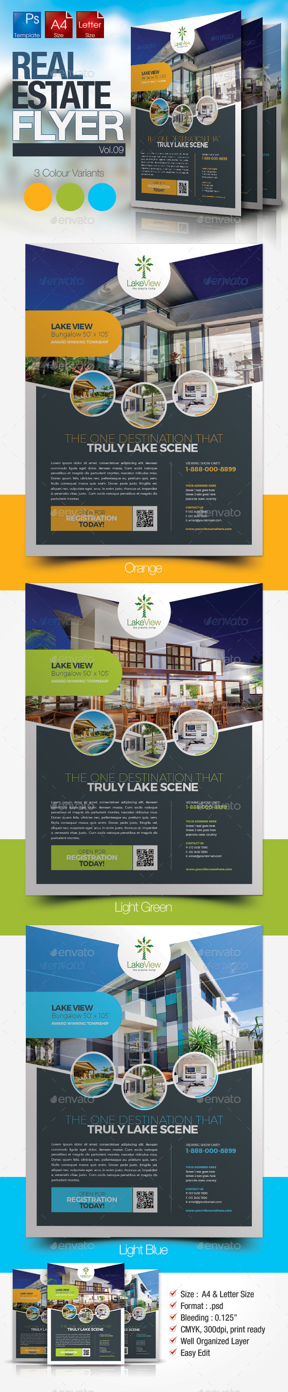 Simple Real Estate Flyer Vol.09 - Miscellaneous Events