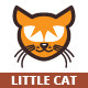 Little Cat Logo Template - GraphicRiver Item for Sale