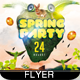 Easter Spring Party Flyer - GraphicRiver Item for Sale