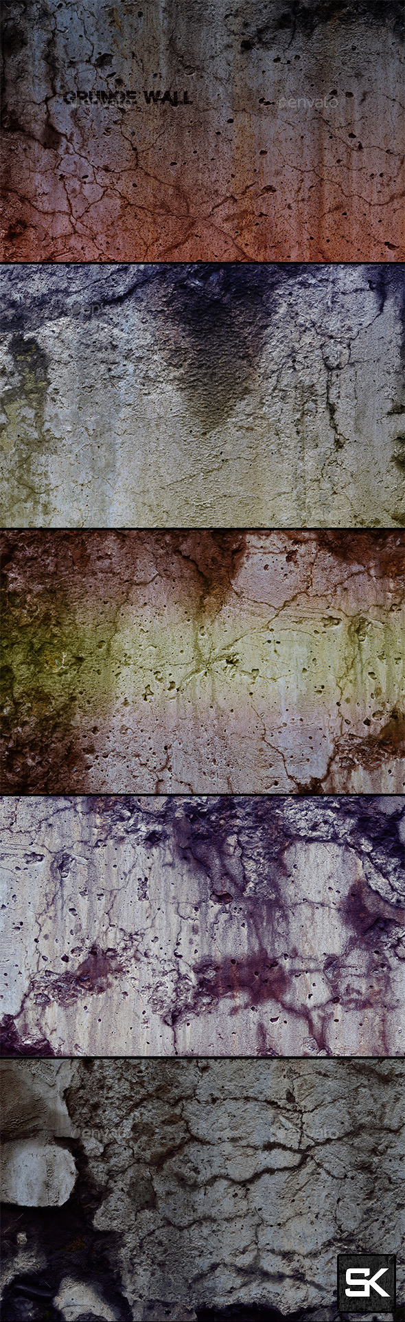 Wall 1 - Industrial / Grunge Textures