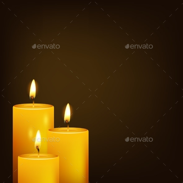 Candles - Backgrounds Decorative