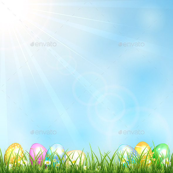 Easter Background  - Seasons Nature