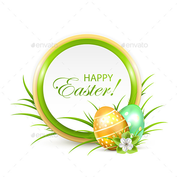 Easter Banner - Borders Decorative