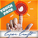 Touch Screen Logo - Quick Flat Interactive Media Reveals - VideoHive Item for Sale