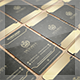 Senor Gold Style Business Card - GraphicRiver Item for Sale
