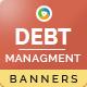 Debt Management Banners