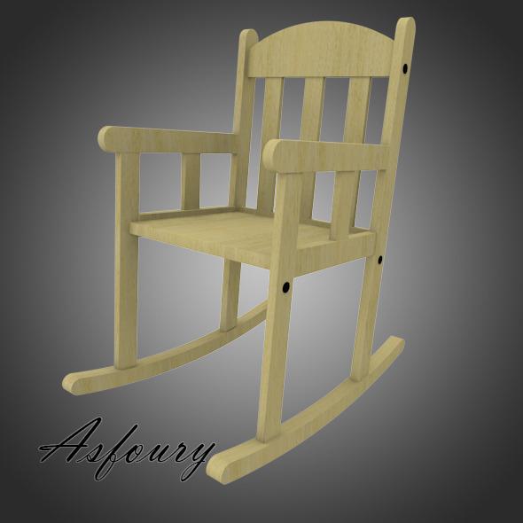 Ikea Sundvik Chair - 3DOcean Item for Sale