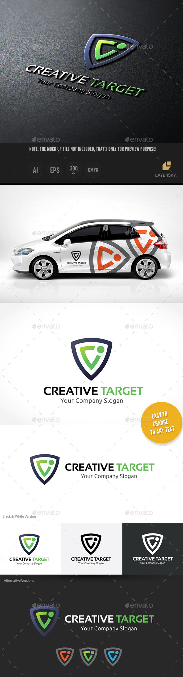 Creative Target - Vector Abstract