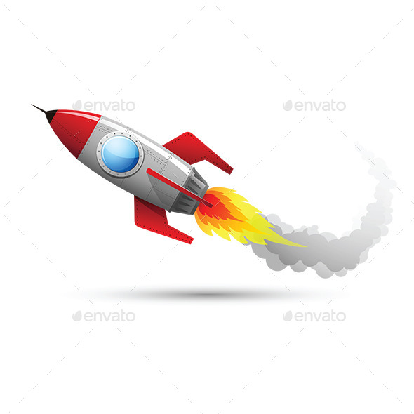 Rocket Flying 2 - Miscellaneous Vectors