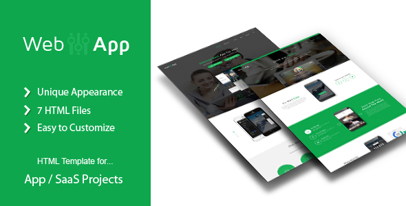 WebApp – App Saas Html Template