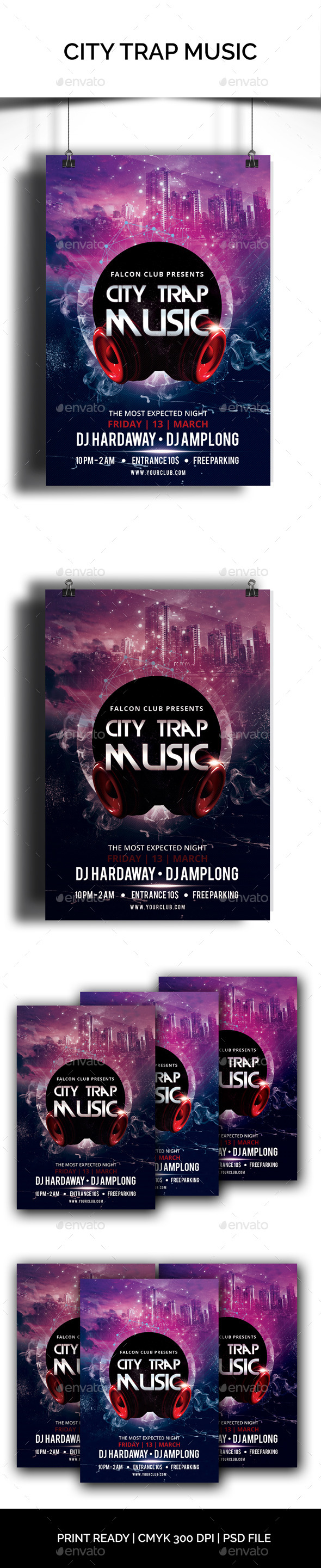 City Trap Music - Clubs & Parties Events