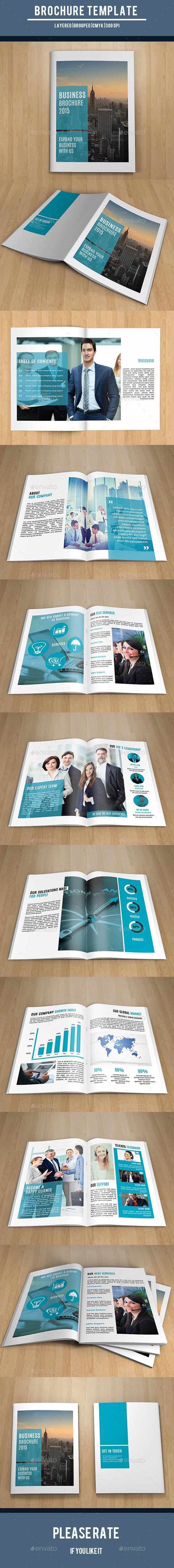Corporate Brochure Template-V218 - Catalogs Brochures