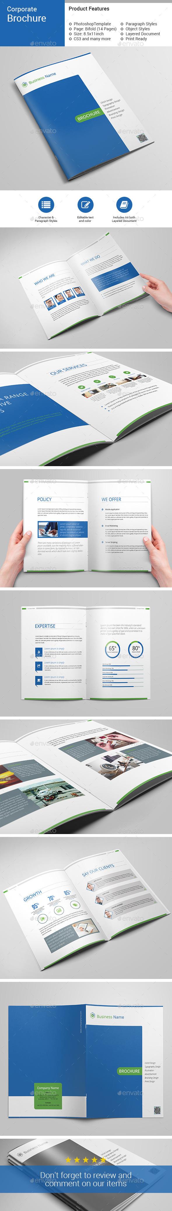 Corporate Brochure-V03 - Brochures Print Templates
