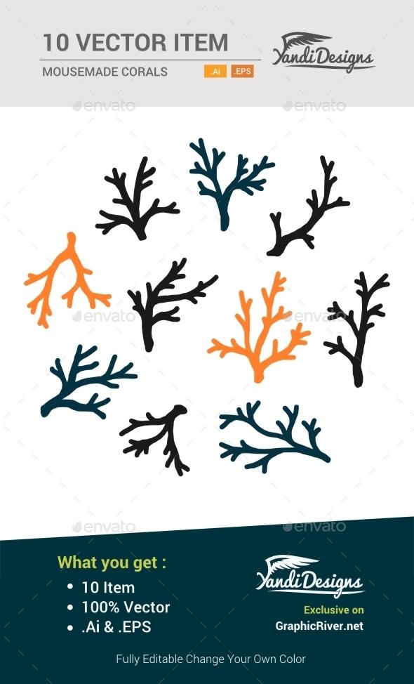 Corals Vector - Nature Conceptual