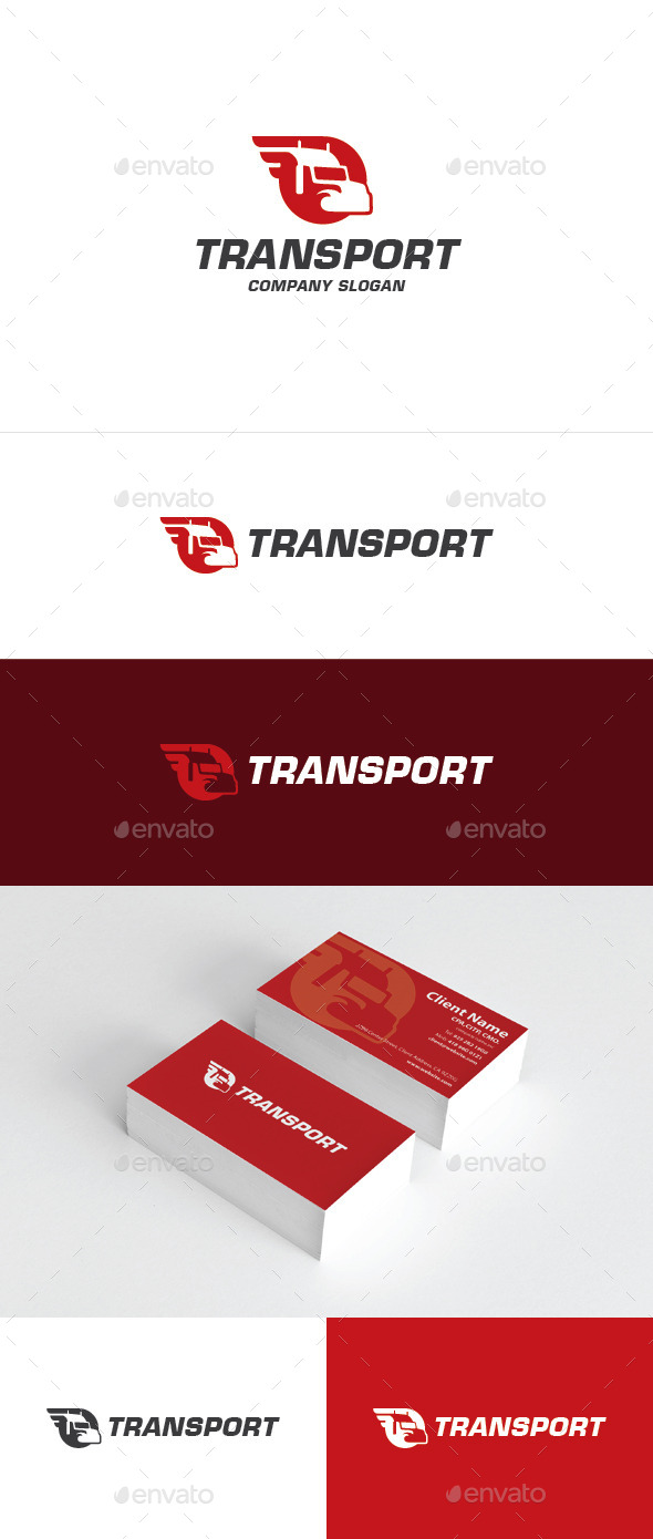 Transport Logo - Objects Logo Templates