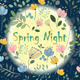 Flowers in the Moonlight  - GraphicRiver Item for Sale
