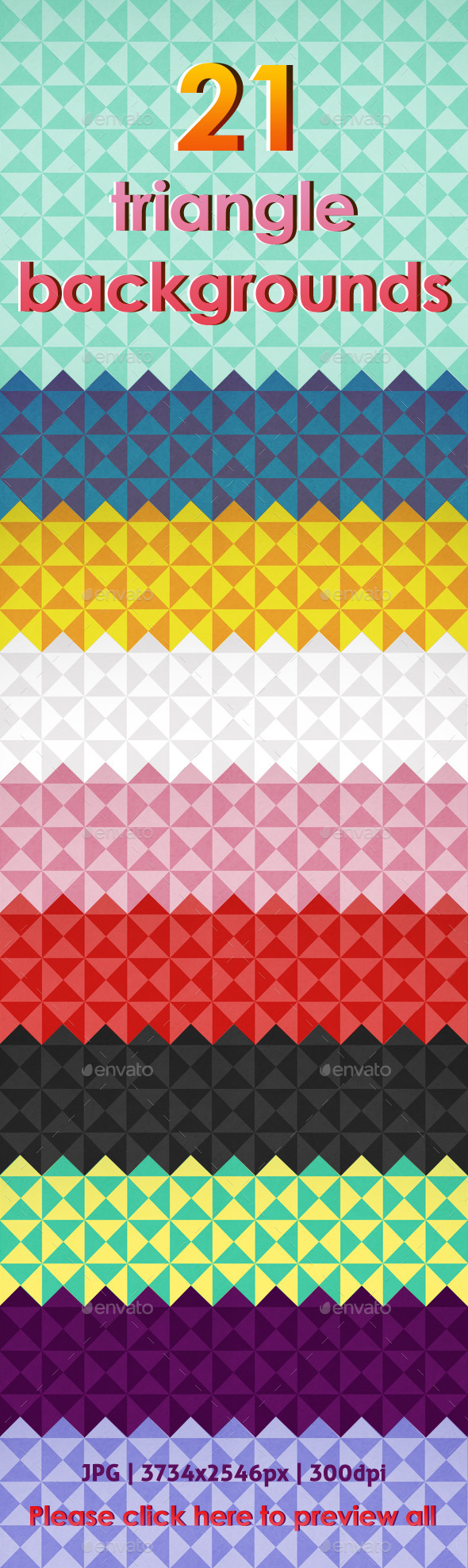 21 triangle backgrounds - Backgrounds Graphics