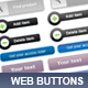 Modern 2.0 Web buttons. - GraphicRiver Item for Sale