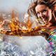 Fire Blast Photoshop Action - GraphicRiver Item for Sale