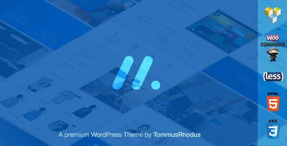 Machine - Responsive Multi-Purpose WordPress Theme
