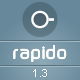 Rapido – Responsive Admin Dashboard Theme Nulled