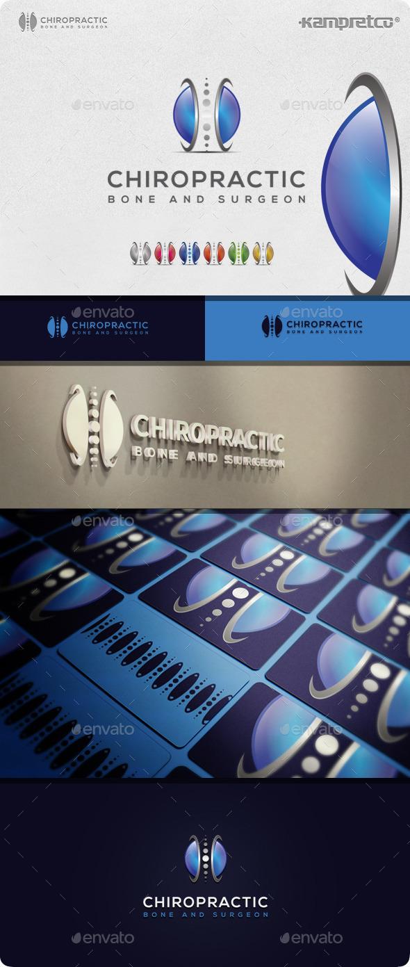 Bone Chiropractic Logo - 3d Abstract