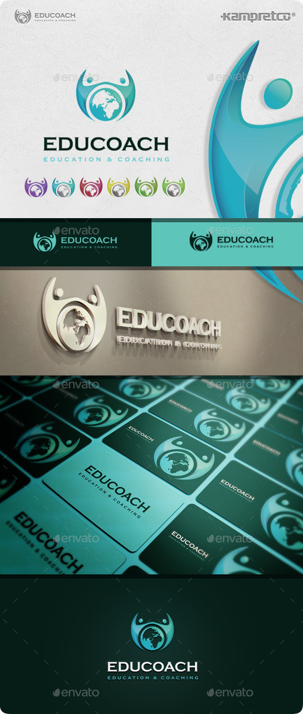 Education Coach Logo - Abstract Logo Templates