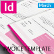 Minimalist Invoice Template - GraphicRiver Item for Sale
