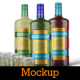 Herbal Liqueur Bottle / Tin Tube Mockup - GraphicRiver Item for Sale
