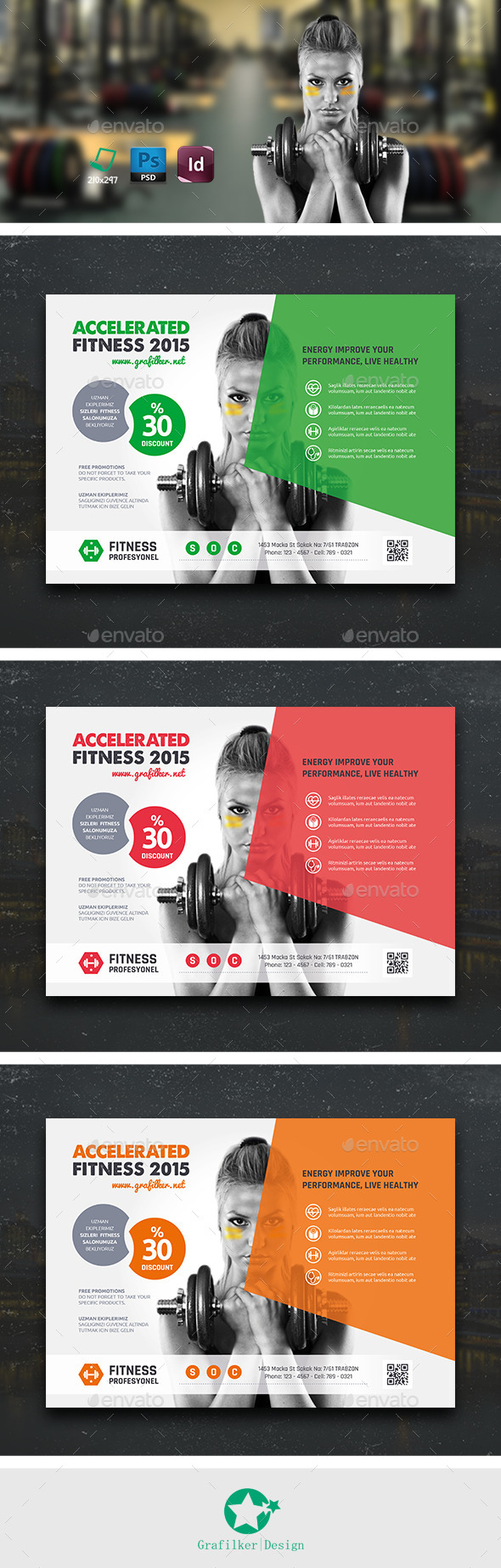 Fitness Flyer Templates - Sports Events