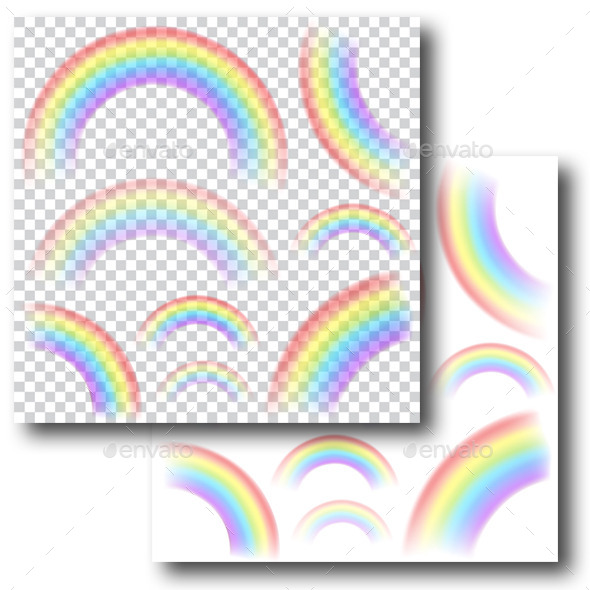 Transparent Rainbows - Nature Conceptual