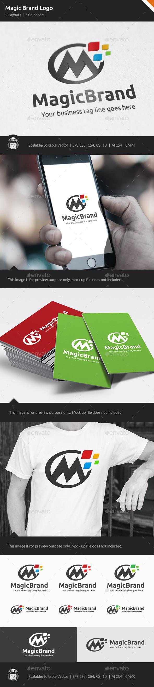 Magic Brand Design Logo - Letters Logo Templates
