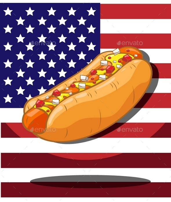 Hot Dog Classic Sausage - Food Objects