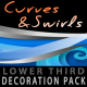 Curves & Swirls lower third - decoration pack - VideoHive Item for Sale