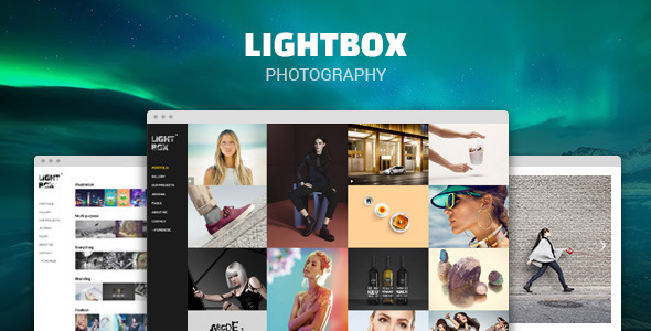 Lightbox – Photography & Portfolio Theme