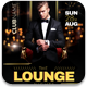 Lounge Nights Flyer Template