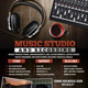 Music Studio II Flyer/Poster - GraphicRiver Item for Sale