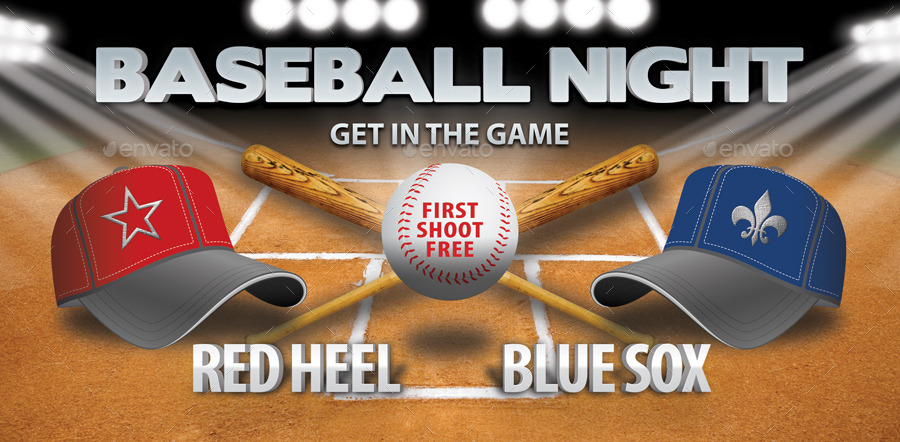 Baseball Night Invitation