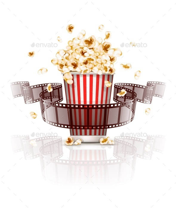 Jumping Popcorn and Film-Strip Film - Man-made Objects Objects