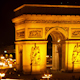 Arc Du Triomphe At Night, Paris France 12 - VideoHive Item for Sale