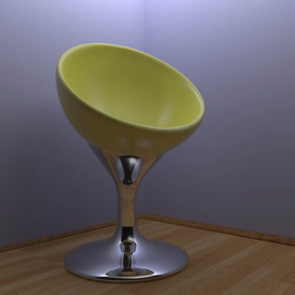 Futuristic Chair - 3DOcean Item for Sale