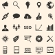 Vector Set of SEO Icons - GraphicRiver Item for Sale