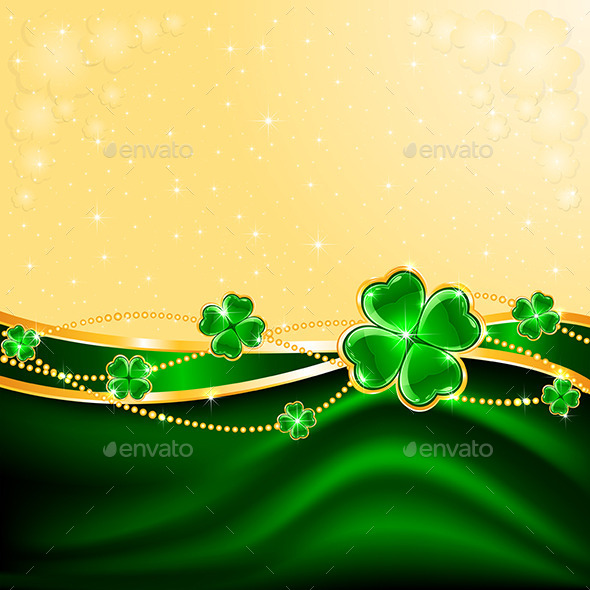 Clover Background - Backgrounds Decorative