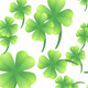 Leaves of Clover on a White Background - GraphicRiver Item for Sale