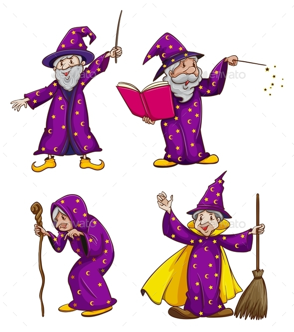 Four Witches - People Characters